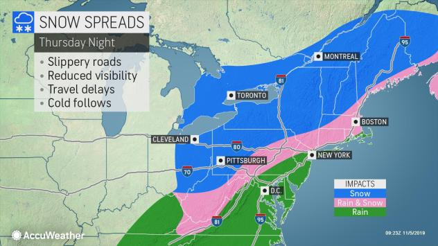 New England, snow,