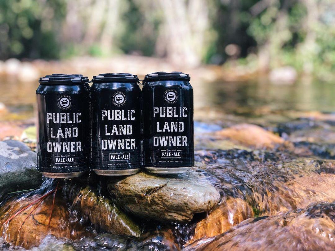 beer, can, public lands, highlander, montana, missoula