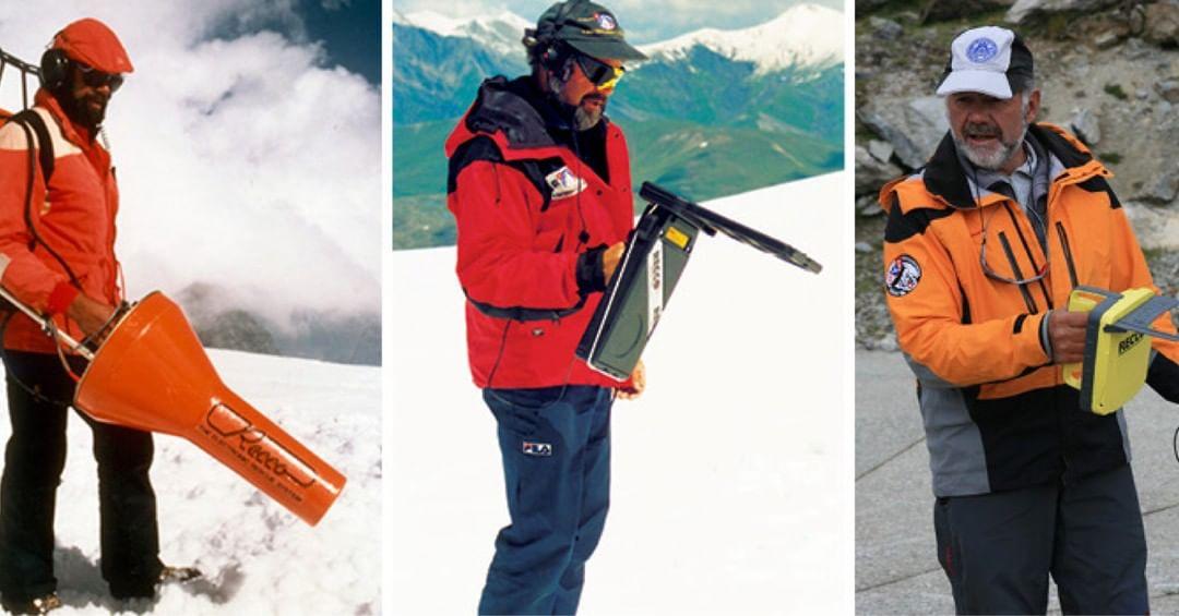 recco avalanche detector buried snow rescue security beacon