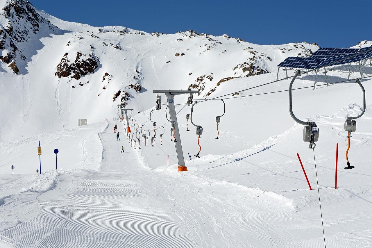 green skiing