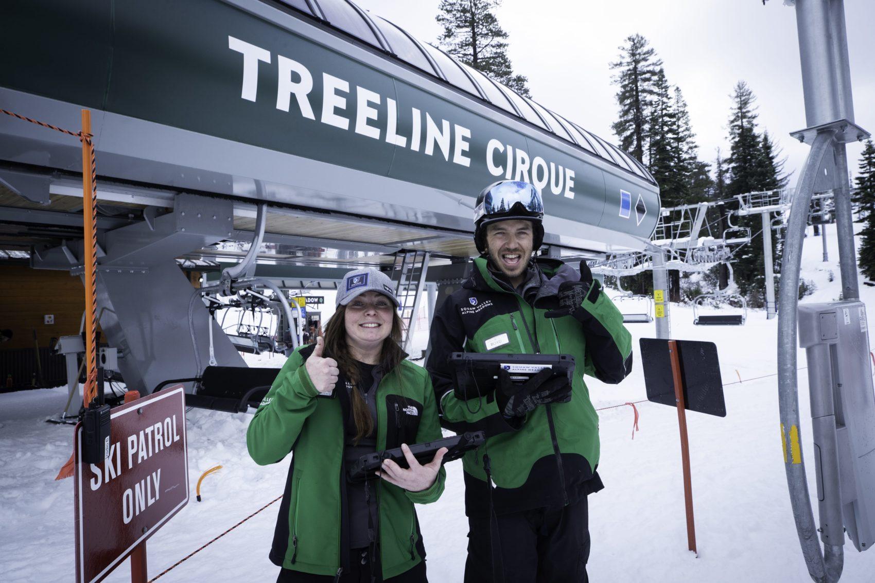 Treeline Cirque, alpine meadows, california