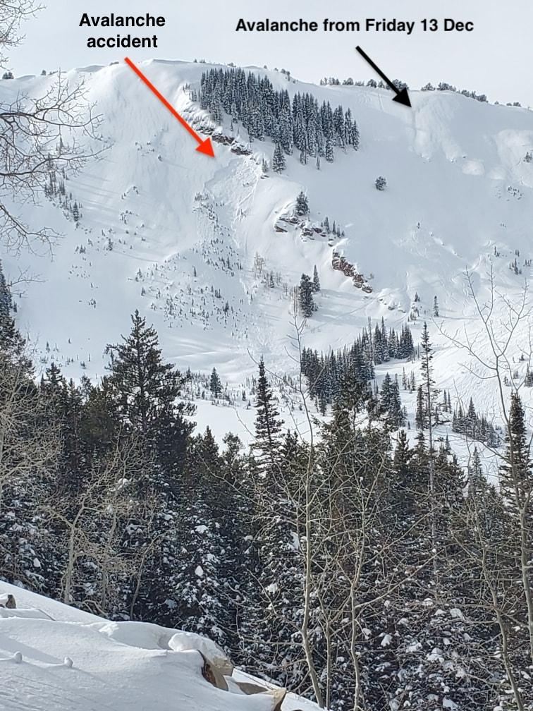 avalanche, Utah, canyons,
