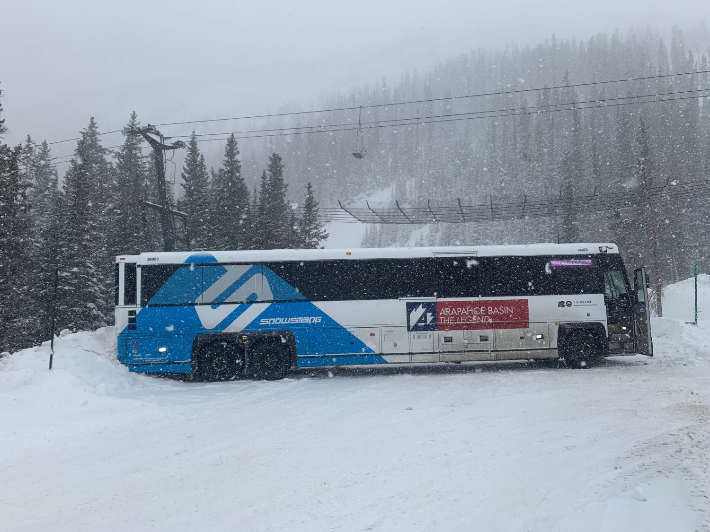 snowstang, stuck, Loveland Pass, colorado, Arapahoe Basin