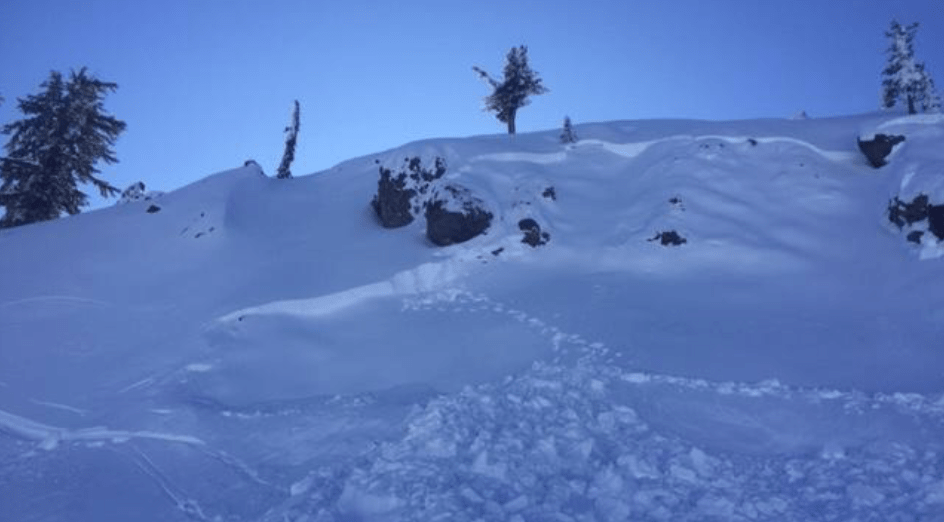avalanche, california, snowboarder, rescued