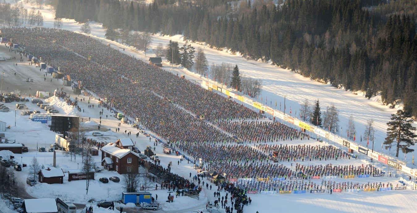 Famous Swedish ski race