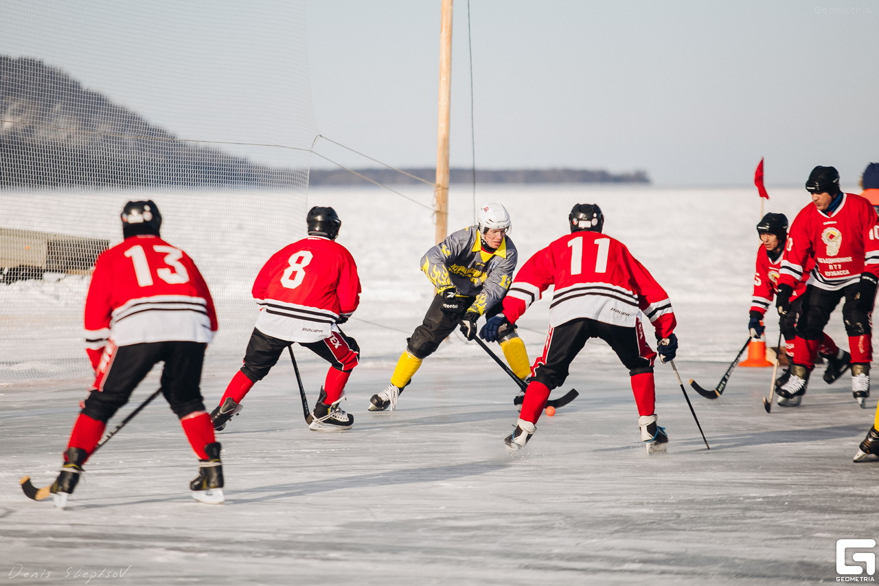 hockey ice freeze frozen river russia