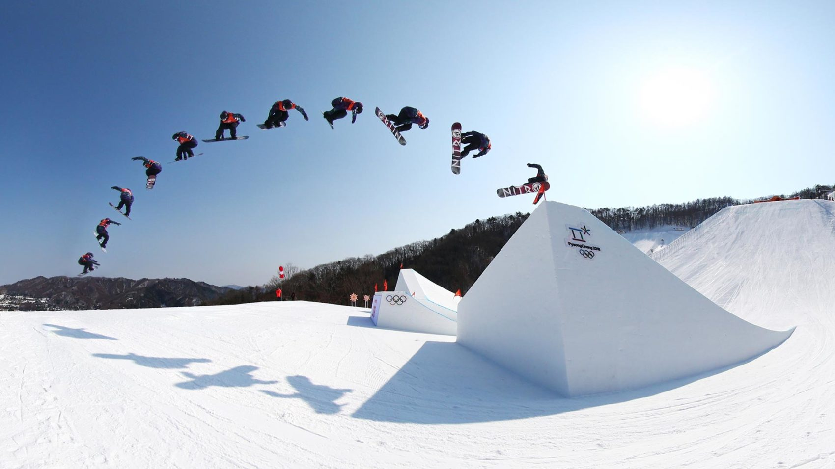 Slopestyle was introduced to the Olympics in 2014, snowboarding