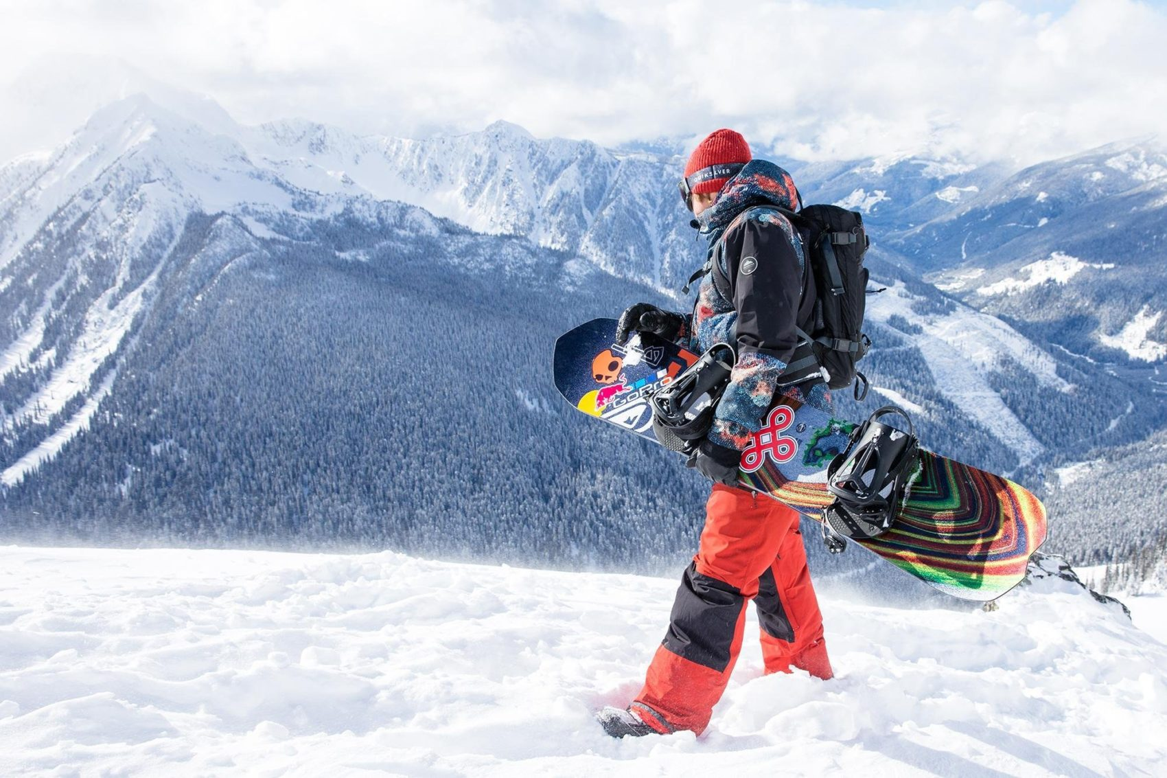 Travis Rice brings art back into the snowboarding industry