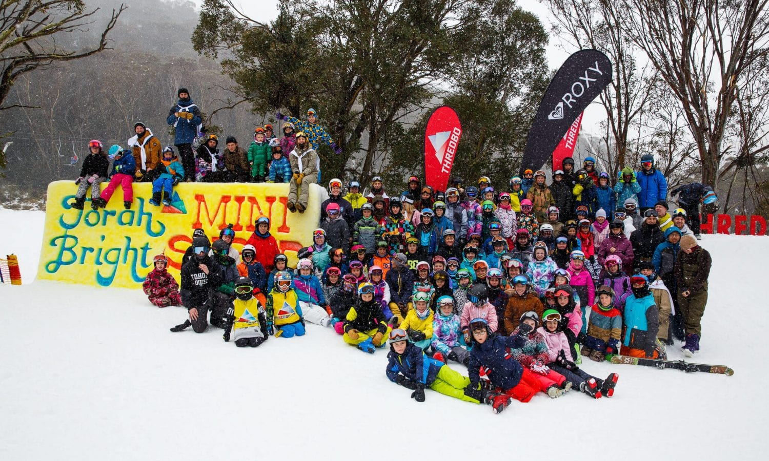 The annual Mini Shred is hosted by Torah Bright, Australian Olympic Snowboarding Gold Medalist.