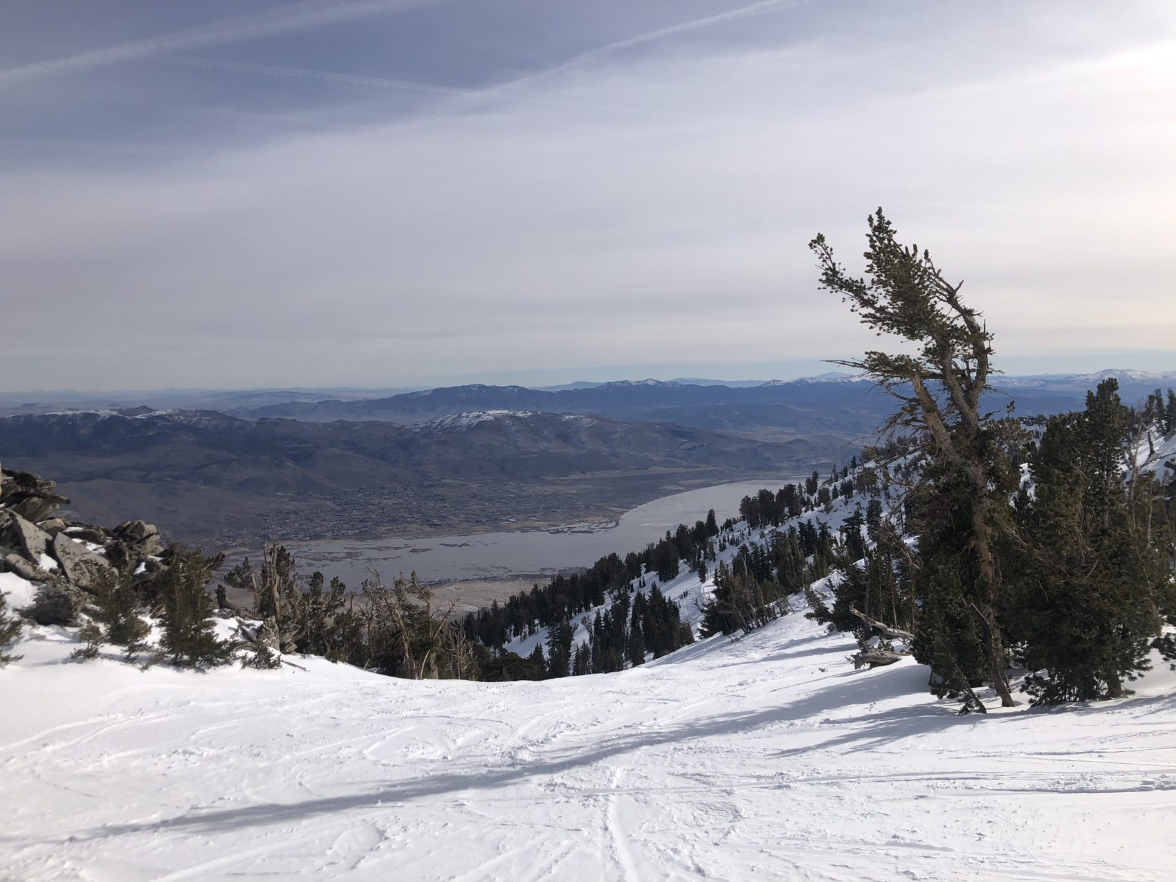 views from Mt Rose