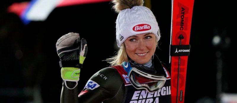 Mikaela Shiffrin, slalom, 2nd place