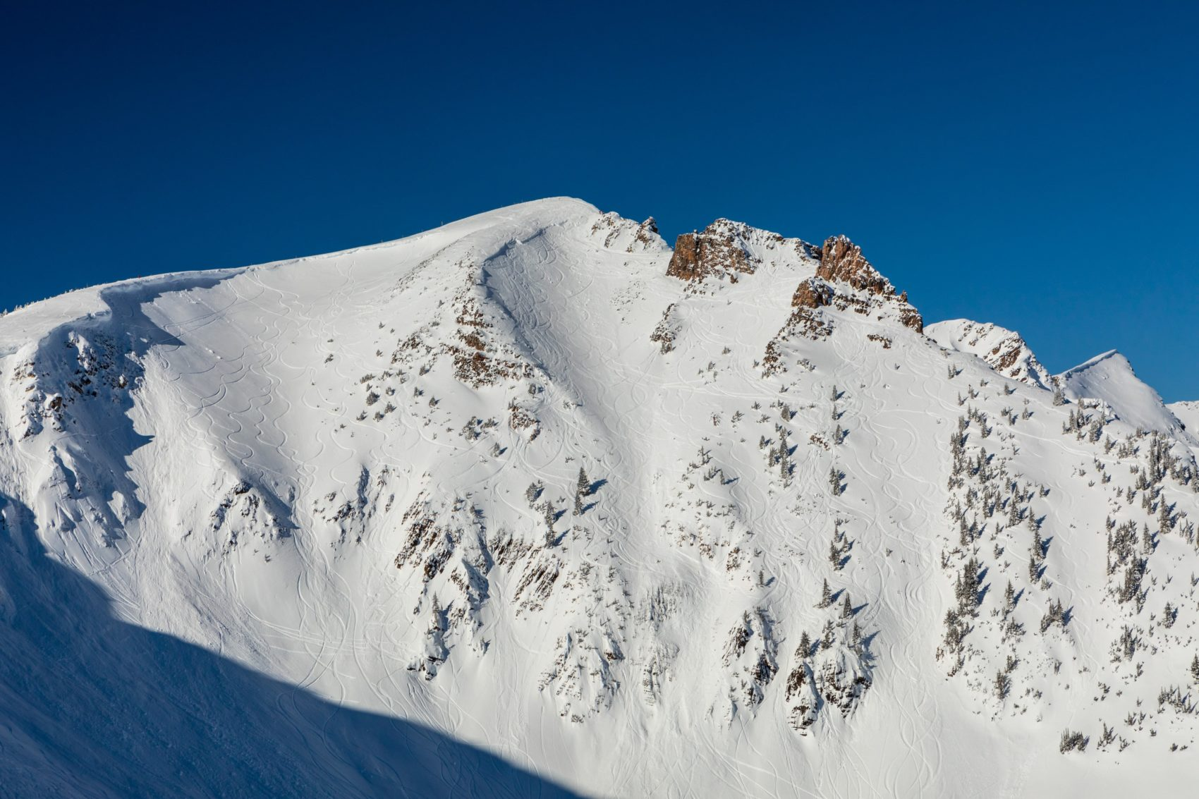 The Freeride World Tour features the Ozone face at Kicking Horse Mountain Resort.
