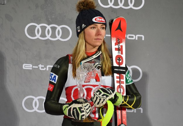 Mikaela Shiffrin Finished Third in World Cup Slalom in ...