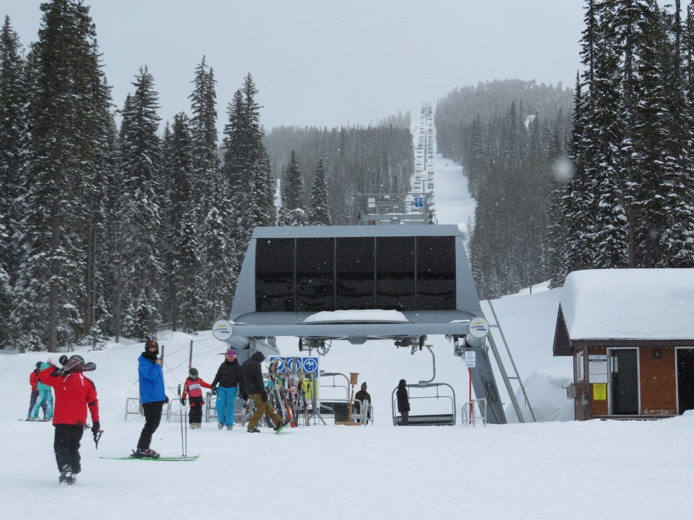 baldy mountain, sugar lump quad, chairlift
