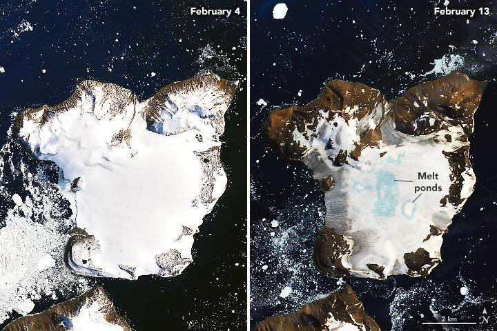 Antarctica, nasa, ice, melt