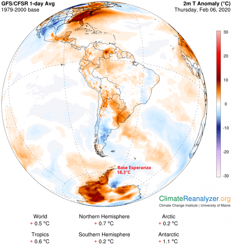 record temperatures, Antarctica