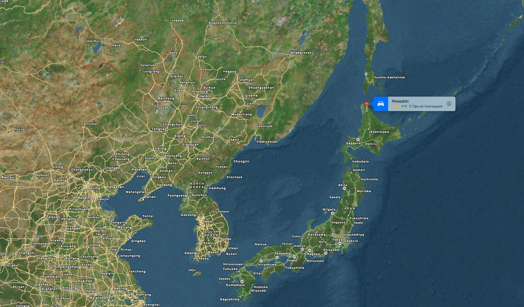 Pinneshiri, Japan, hokkaido