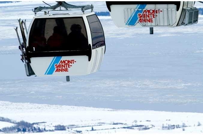mont saint Anne, Quebec, gondola