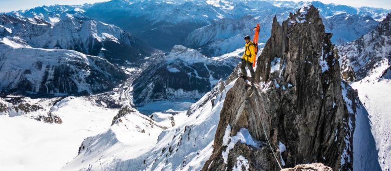 Chamonix Steep skiing