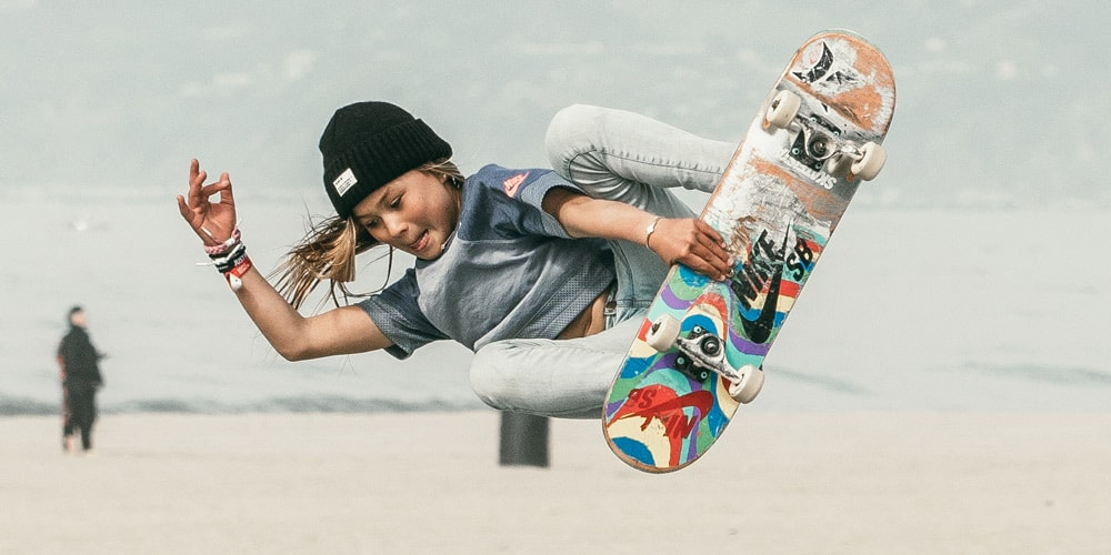 With skateboarding coming to the Olympics, 11-year-old Sky Brown is the face of the sport.
