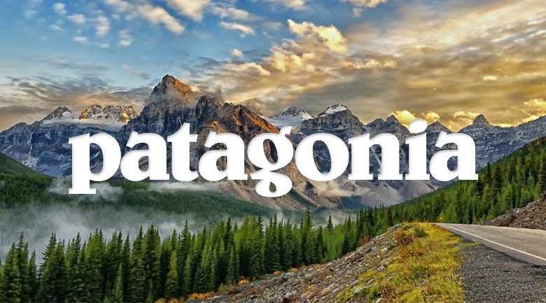 Choose Patagonia to help support the environment.
