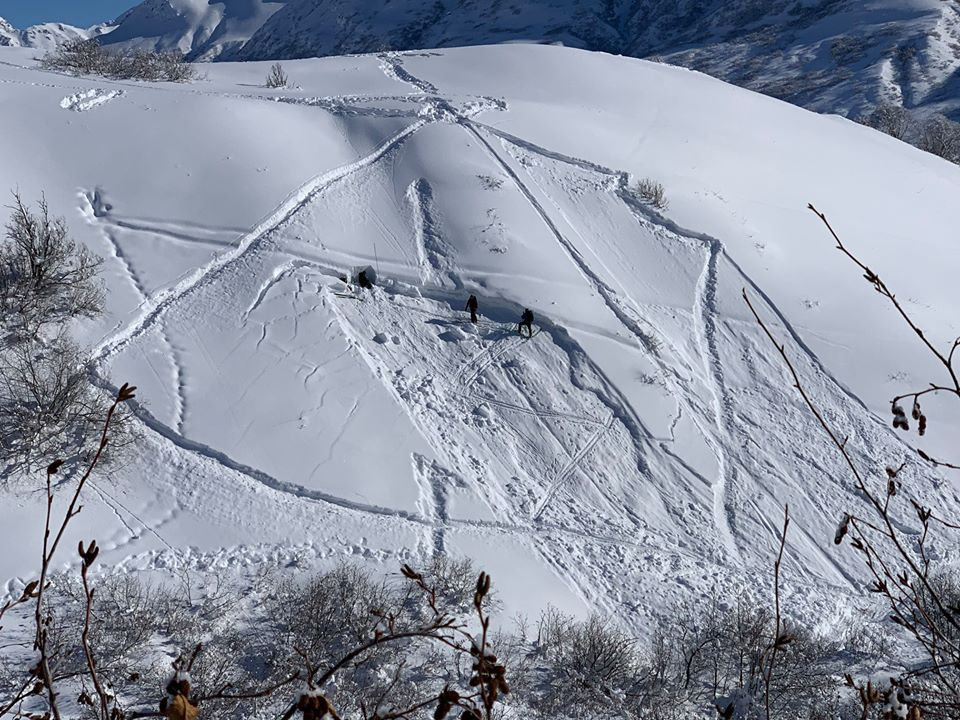 Hatcher Pass, avalanche, Alaska