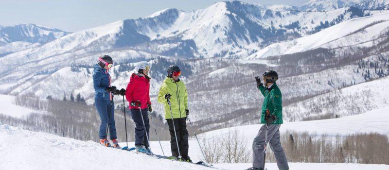 ski tour in utah