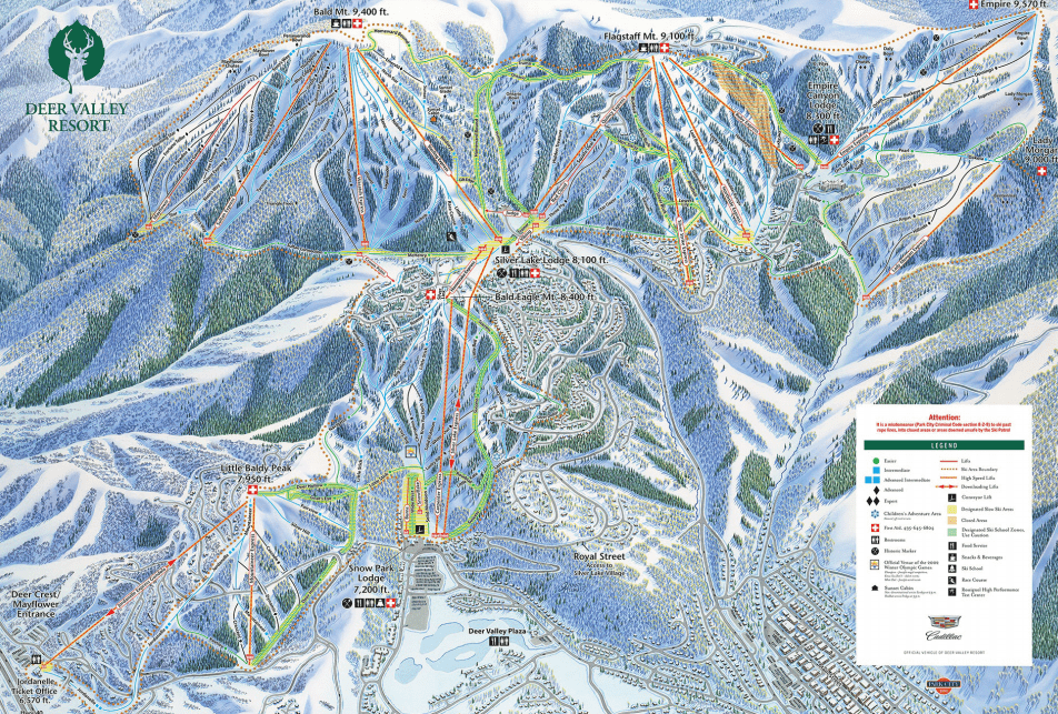 over 2000 acres at deer valley