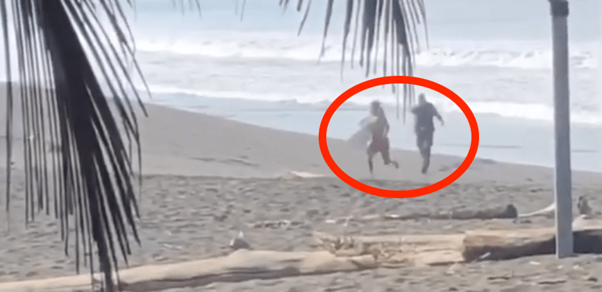 surfers, shot, Costa Rica