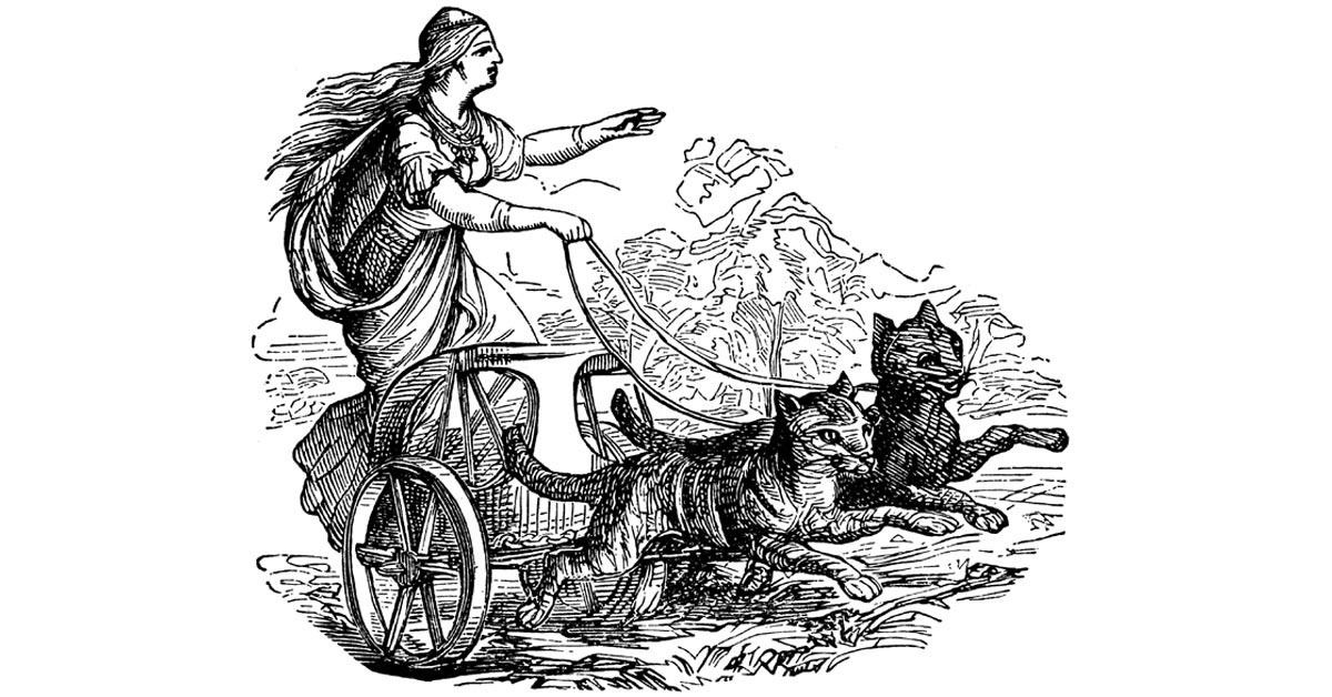 frigga, norse goddess, Friday 13th