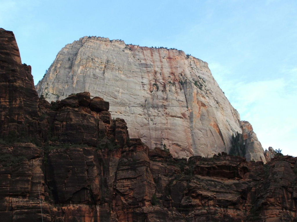 great white throne, Zion, Utah,