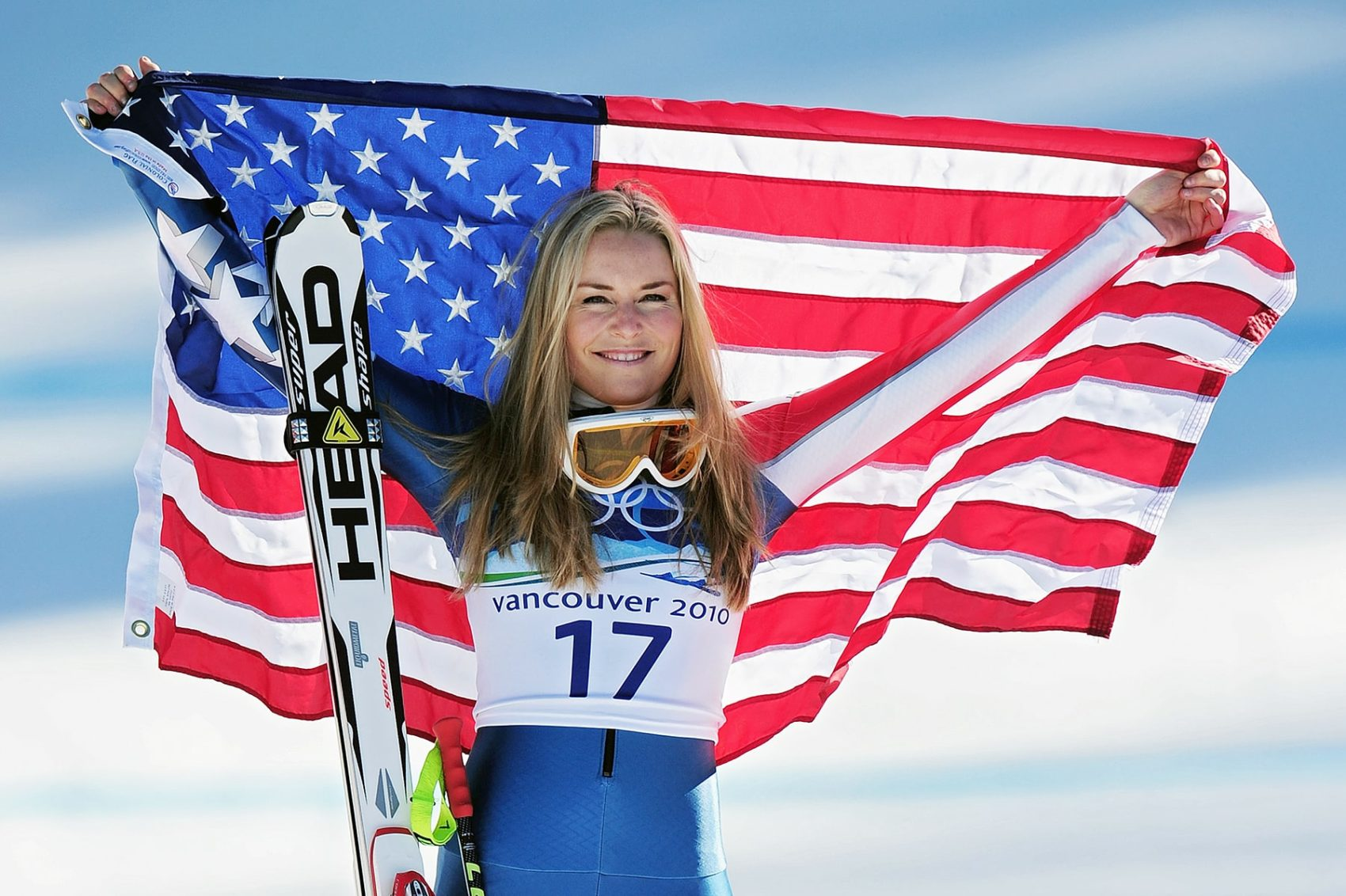 Lindsey Vonn won Gold at the 2010 Winter Olympic Games.