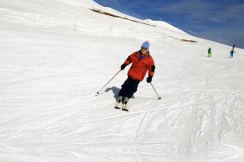 100-year-old skier, uk's oldest skier,