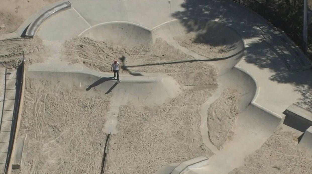 skate parks, california, filled sand