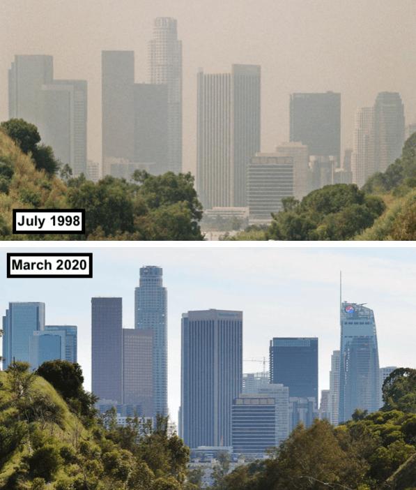 Los Angeles, pollution