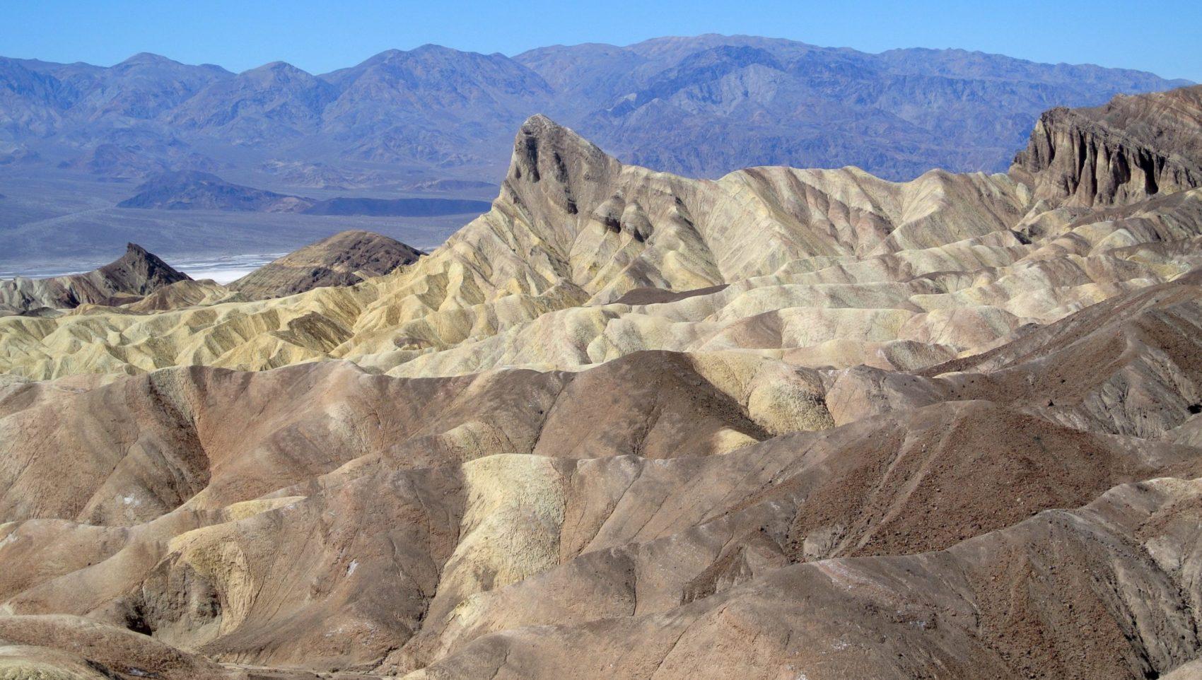 manly beacon, Death Valley, California