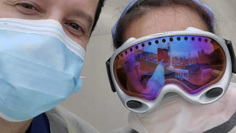 goggles, coronavirus