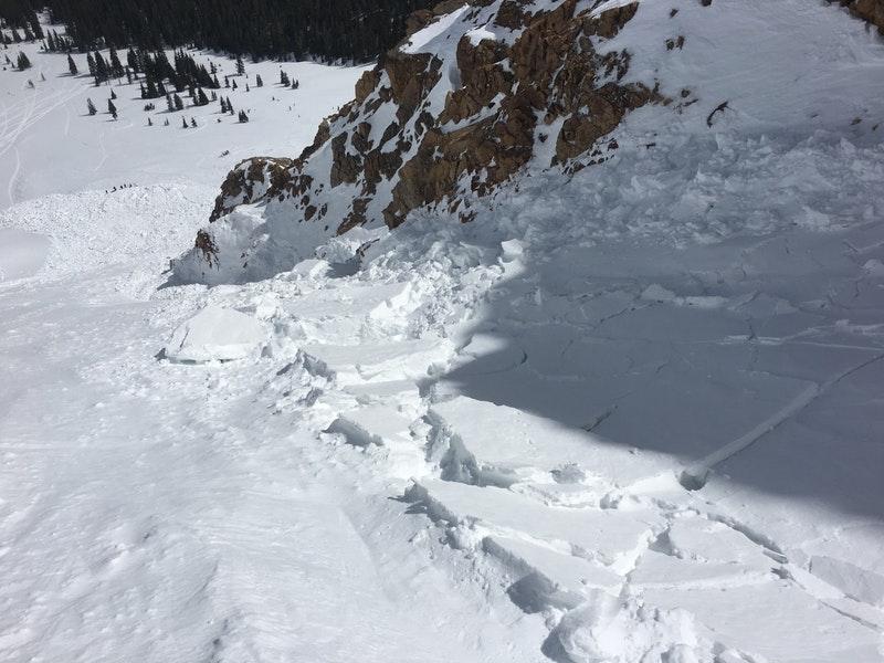 debris, avalanche