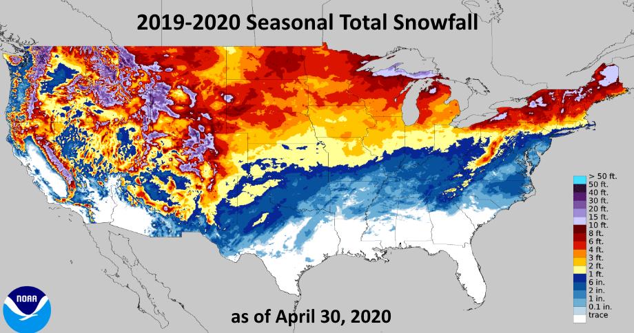NOAA, snowfall,