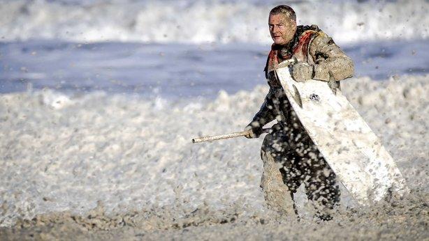 netherlands, surfer, killed, foamy seas