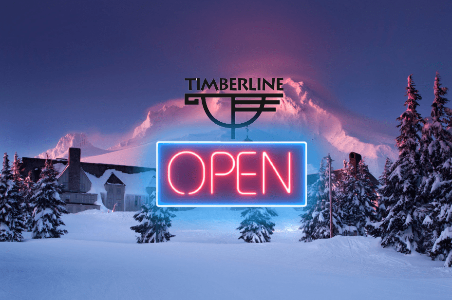 timberline lodge, Oregon, opening
