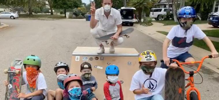 Shaun White, skateboarding