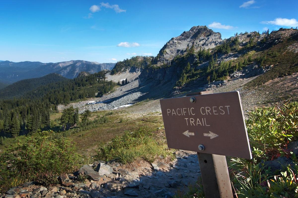 pacific crest trail, Yosemite, California