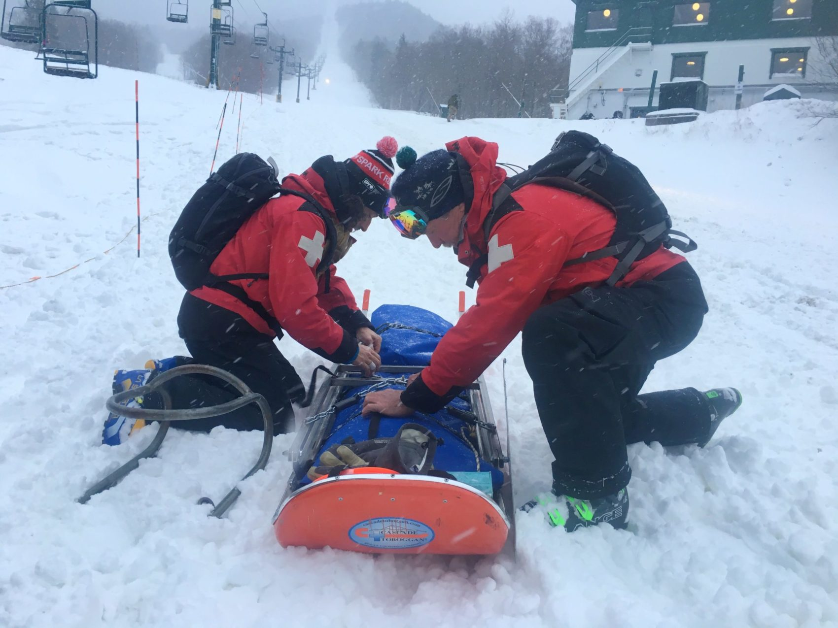 transporting a patient can save lives
