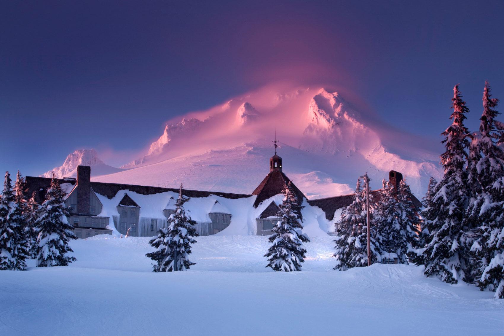open, timberline lodge, oregon, mt hood,