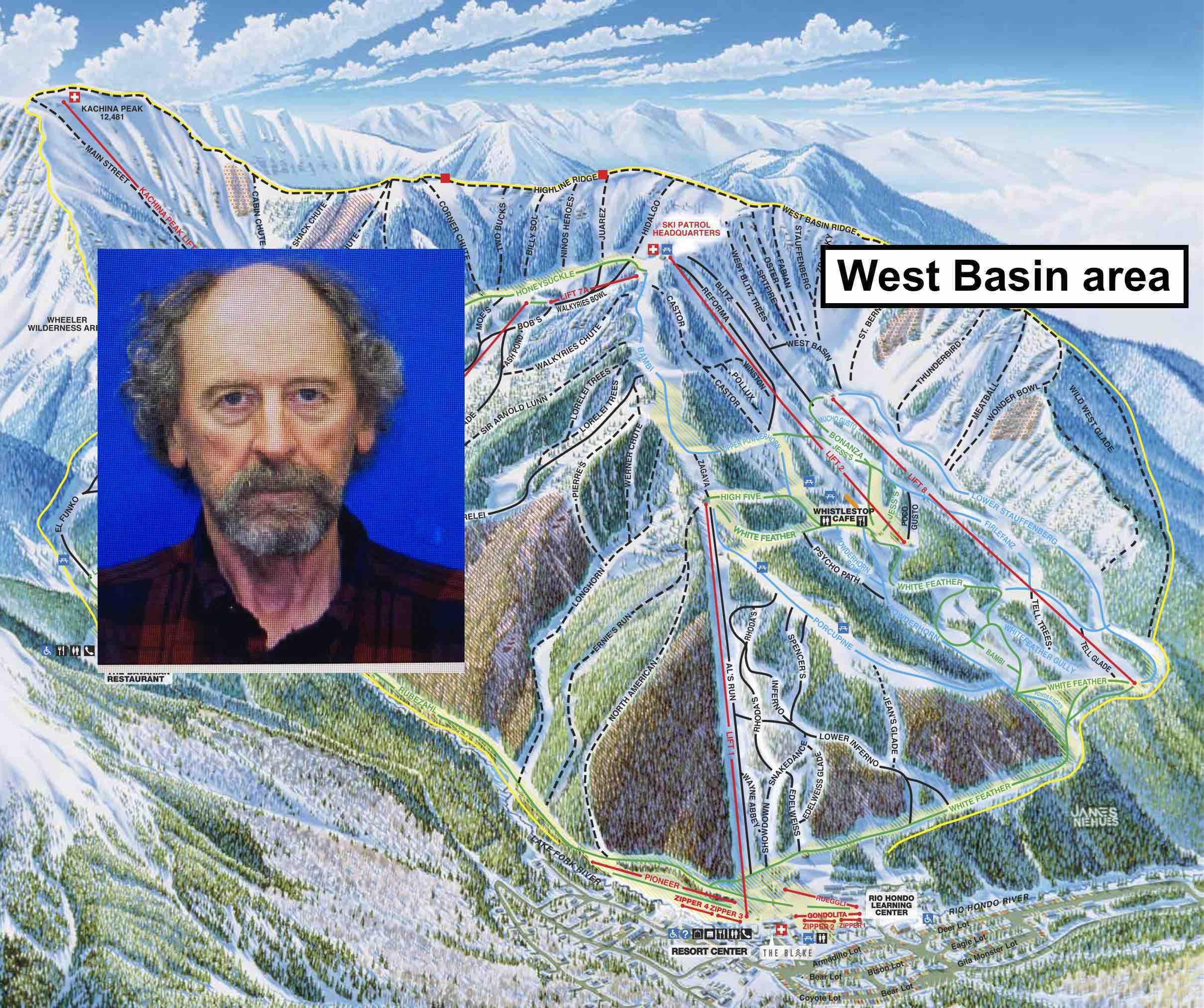 John McCoy, taos ski valley, New Mexico
