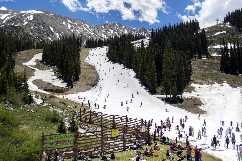 Summer skiing 2019 A-Basin