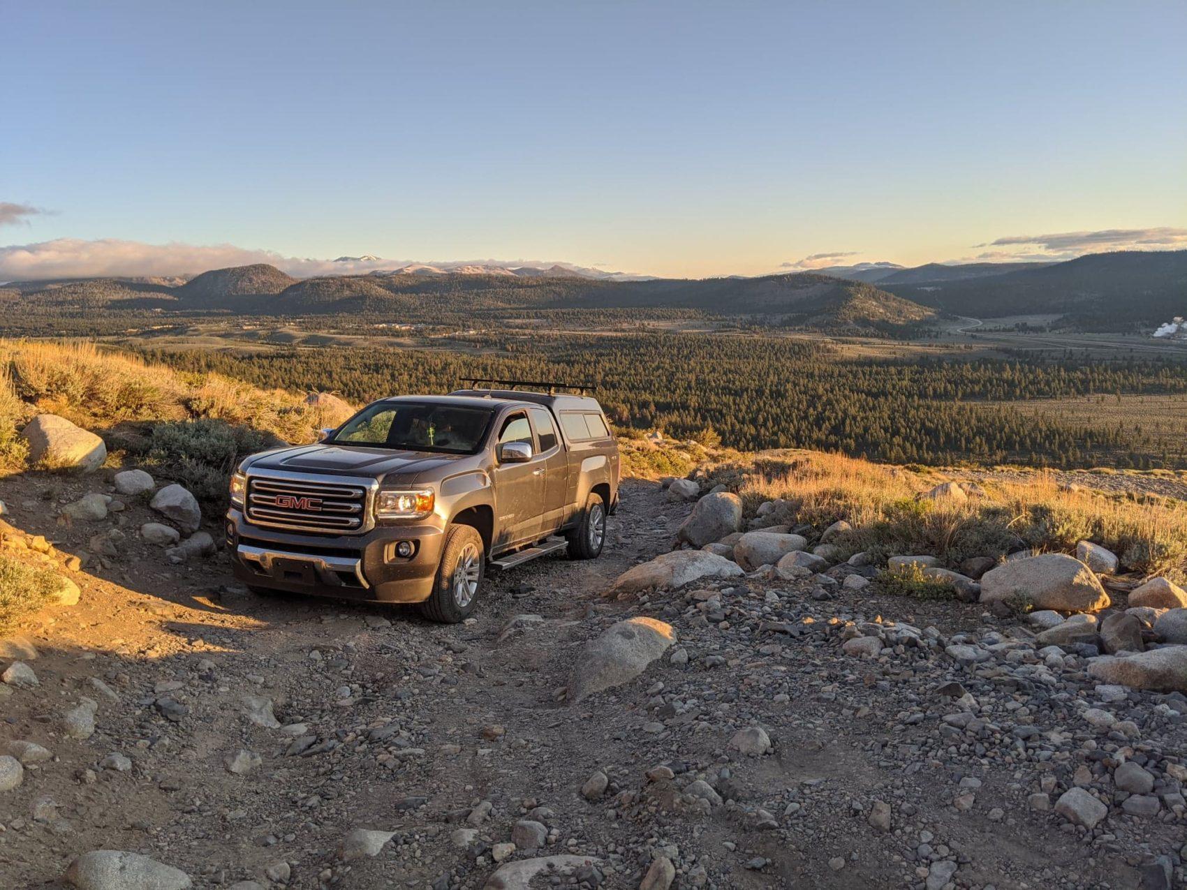 truck, big truck, american muscle, sunrise, morning, wheels, tires, diesel
