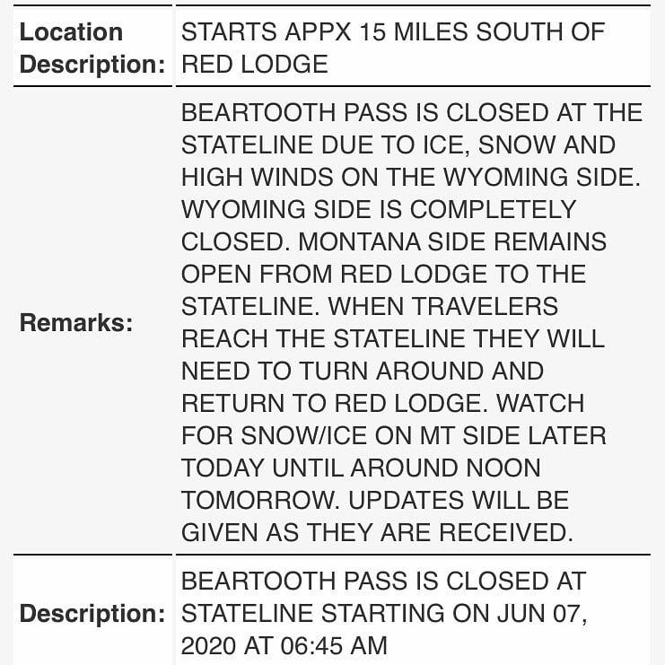 beartooth highway,