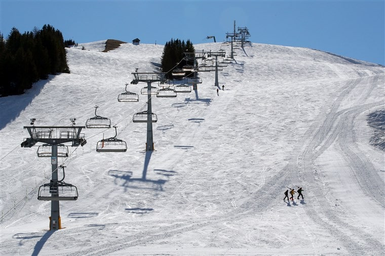 Ski resorts were forced to shut down due to COVID19.